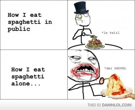 I see your eating spaghetti - meme - Jokes, Memes & Pictures