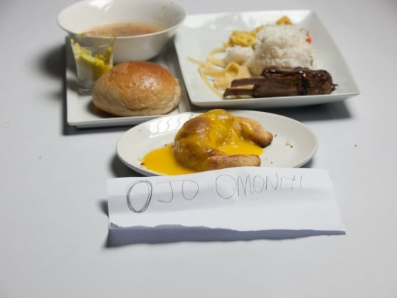 Ojo's food
